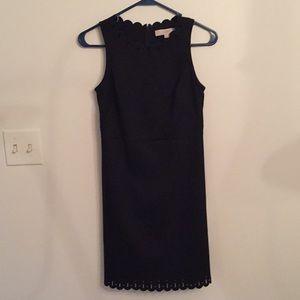Ann Taylor Loft 00P Black Dress